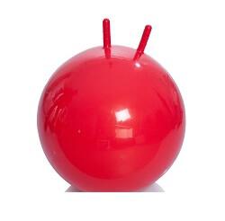 Мяч - фитбол детский с рожками (диаметр 55 см)