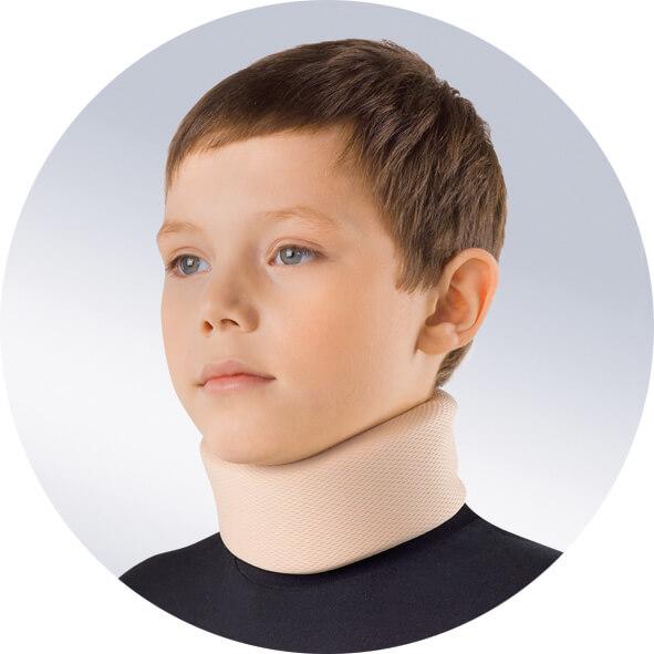 Шина воротник Шанца для детей
