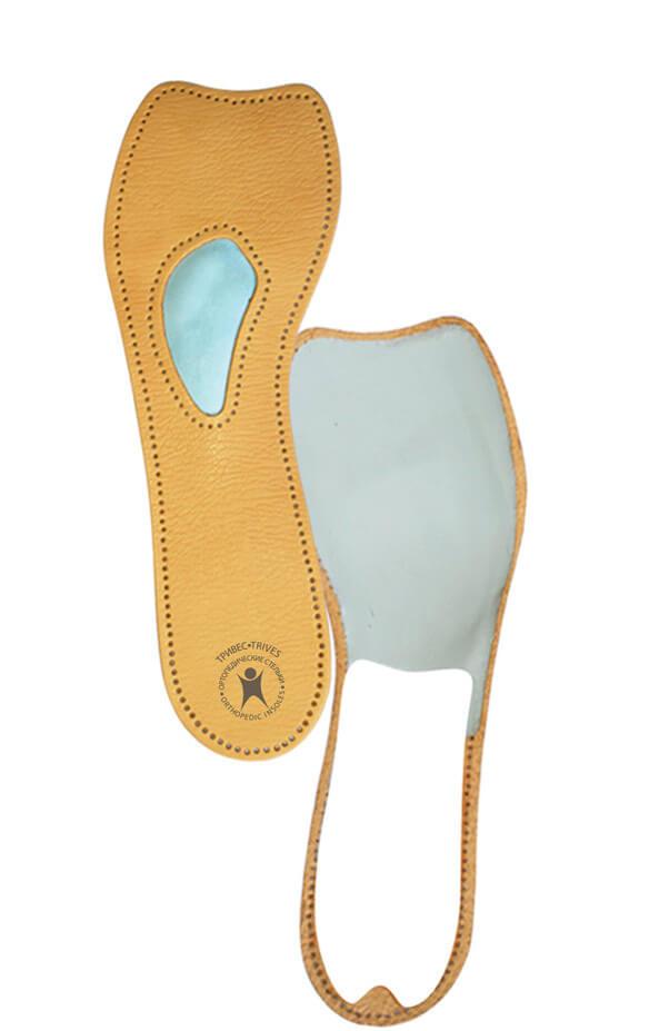 Полустельки ортопедические для обуви на высоком каблуке