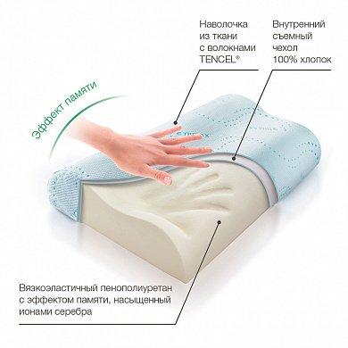 Подушка ортопедическая TRELAX RESPECTA П05