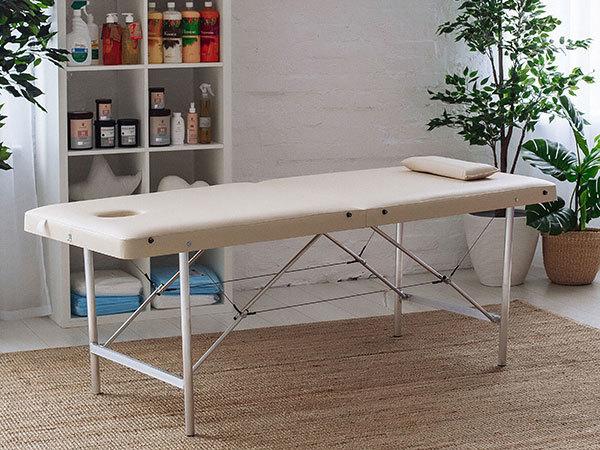 """Складной массажный стол (косметологическая кушетка) """"Комфорт 190"""""""