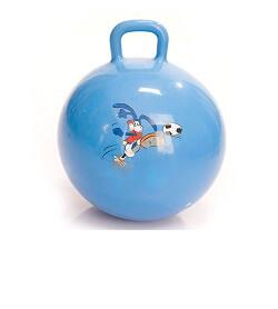 Гимнастический мяч - фитбол с ручкой (диаметр 60 см)