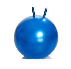 Мяч-фитбол детский с рожками (диаметр 65 см)