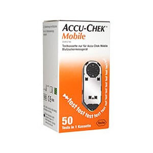 Тест-кассета Акку-чек Мобайл (Accu-Chek Mobile) N50